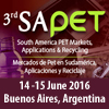3rd SAPET South America PET Markets, Applications & Recycling